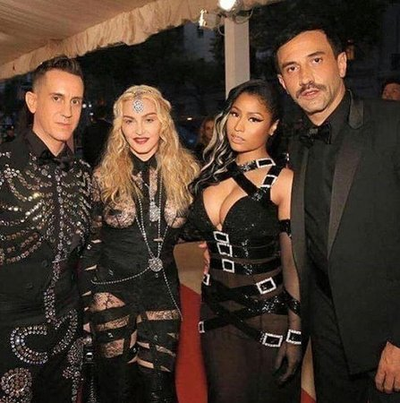 Madonna na Met Gala 2016