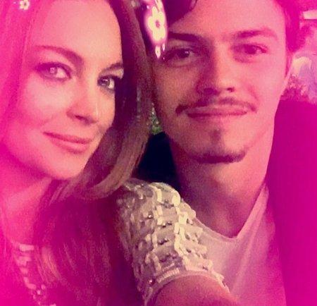 Lindsay Lohan se svým snoubencem