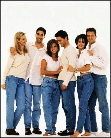 Symboly devadesátých let. Mom džíny a Přátelé.