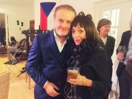 Pavel Šporcl a Františka Čížková