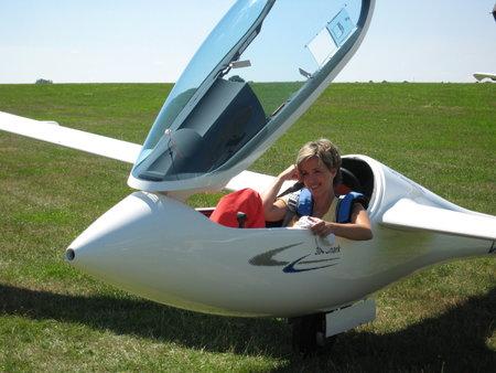 Alena Zárybnická dnes už na létání nemá čas.