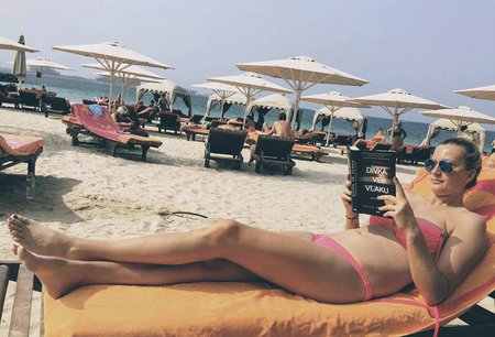Petra Kvitová relaxovala v Dubaji.