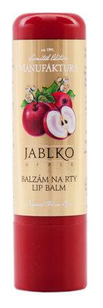 Manufaktura balzám na rty s jablečným a arganovým olejem, 109 Kč, koupíte na www.manufaktura.cz
