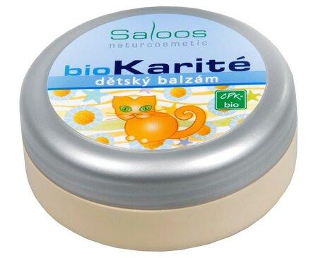 Saloos Bio Karité balzám - Dětský, 117 Kč, koupíte na www.krasa.cz