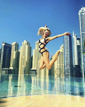 Eva Perkausová v Dubaji