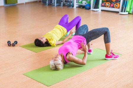 Posilování svalů pánevního dna.