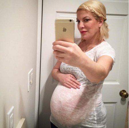 Tori Spelling čeká své páté díte
