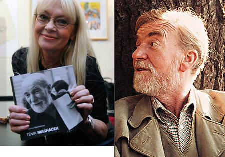 Kateřina Macháčková a její otec Miroslav Macháček