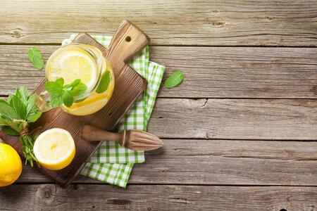 Citronová šťáva je zdravá.