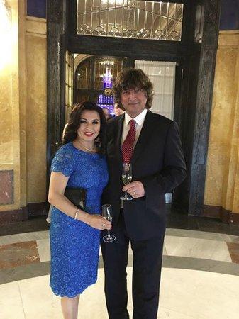 Dana Morávková s manželem