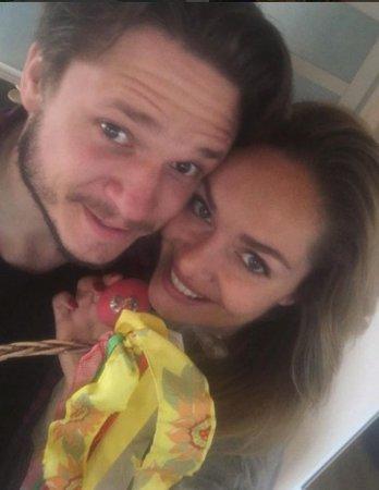 Taťána Kuchařová s Ondřejem Brzobohatým o Velikonocích