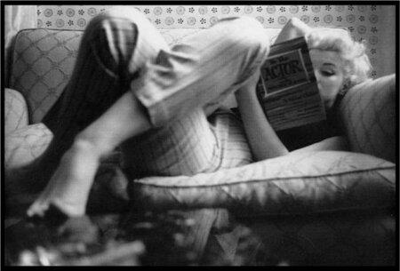 Marilyn si velmi ráda četla, třeba Dostojevského, i když jí to málokdo věřil. V jejím bytě proto měly knihy vždy své místo.