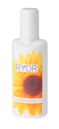 Samoopalovací mléko Ryor, 167 Kč