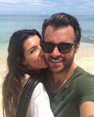 Leoš Mareš s přítelkyní Monikou