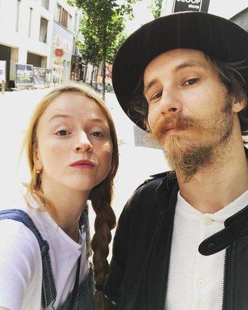 Marie Doležalová s přítelem Markem Zelinkou