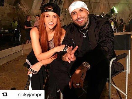 Shakira natáčela nový klip.