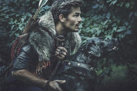 David Kraus v roli lovce