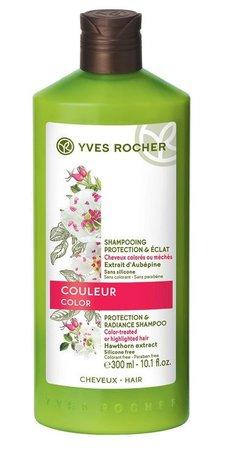 Šampon pro barvené vlasy, Yves Rocher, 95 Kč (300 ml). KOupíte na www.yves-rocher.cz nebo v kamenných obchodech.