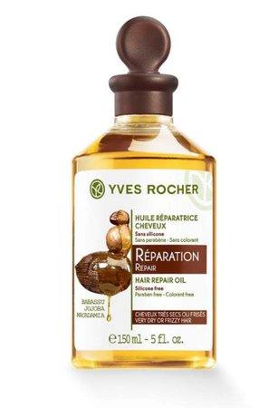 Regenerační olej na poškozené vlasy, Yves Rocher, 149 Kč (150 ml)  Koupíte v prodejnách Yves Rocher nebo na www.yves-rocher.cz.