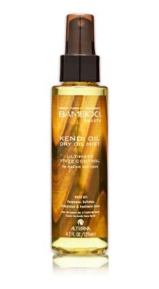 Olej na vlasy Bamboo Smooth Kendi Dry Oil Mist, 639 Kč (125 ml)  Koupíte na http://obchod.salononline.cz