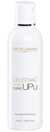 Odličovač očního make-upu, For Life Madaga, 223 Kč (200 ml). Koupíte na www.forlifemadaga.com.