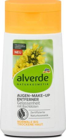 Odličovač očí Bachovy květy, Alverde, 59,90 Kč (100 ml)  Koupíte v síti drogerií dm.