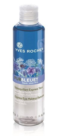 Expresní odličovač na oči s chrpou Pur Bleuet, Yves Rocher, 199 Kč (200 ml)  Koupíte v kamenných prodejnách nebo na www.yves-rocher.cz.