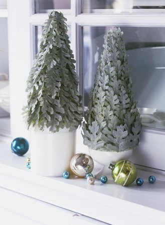 Vánoční dekorace do okna.