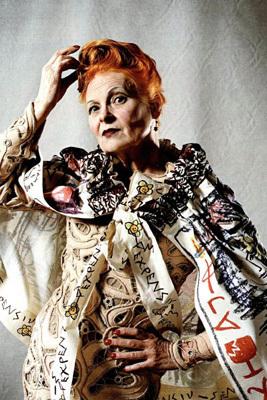 Královna punkové mód Vivienne Westwood.