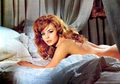 MichelleMercier byla považována za sex symbol 60. let