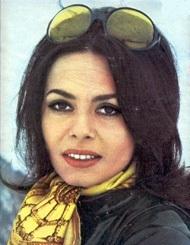 Angelika v roce 1974, její kariéra herečky pomalu končila.