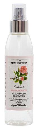 Přírodní růžová voda s vřídelní solí pro čištění, hydrataci a zpevnění pleti, Manufaktura; 295 Kč (155 ml) Koupíte na www.manufaktura.cz.