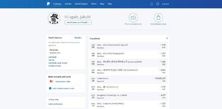 PayPal patří k nejpopulárnějším platebním branám na webu (ilustrační snímek)