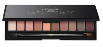 Paletka stínů la Palette Nude, L´Oréal Paris, varianta Rose, 412 Kč. Koupíte v síti drogérií.