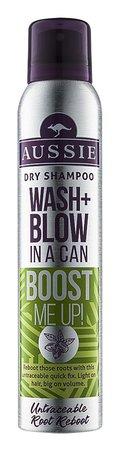 Suchý šampon pro jemné a zplihlé vlasy Aussie Wash + Blow Boost Me Up, 130 Kč