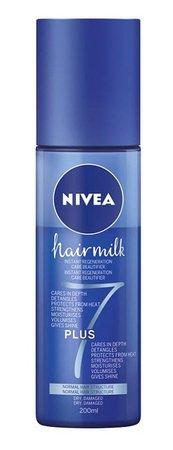 Regenerační bezoplachovı kondicionér pro normální vlasy, Hairmilk 7 Plus, Nivea, 110 Kč
