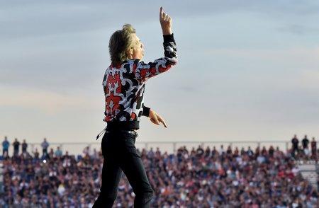 Rolling Stones zahráli 4. července 2018 v pražských Letňanech.