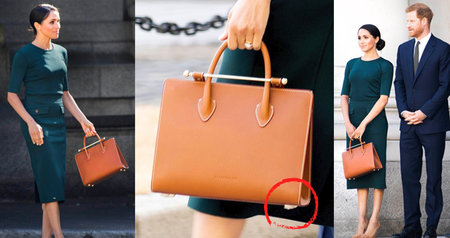 Trapas vévodkyně Meghan v Irsku! Co bylo špatně na její kabelce?