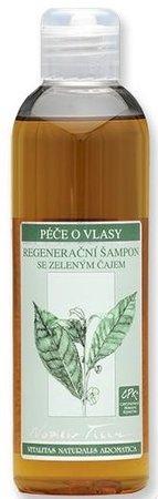 Regenerační šampon se zeleným čajem Nobilis Tilia, 319 Kč (200 ml), koupíte na www.biooo.cz