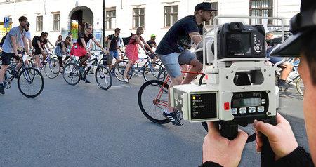 Bude policie v budoucnu měřit v centru Prahy rychlost cyklistům (ilustrační foto)?