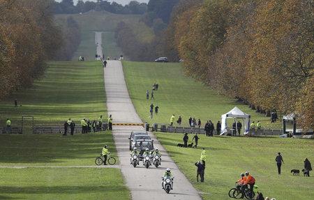 Přísná bezpečnostní opatření v okolí hradu Windsor