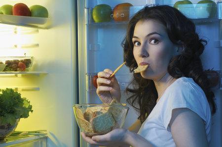 Některé potraviny, můžete jíst i v noci.