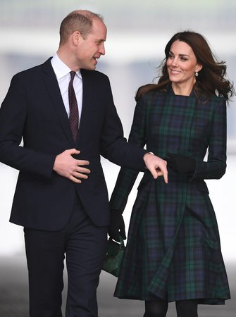 Vévodkyně Kate a princ William