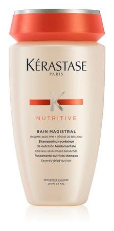 Vyživující šampon pro normální až silné extrémně suché a zcitlivělé vlasyNutritive Magistral, Kerastasé, 525 Kč (250 ml)