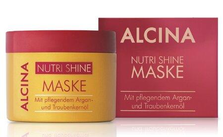 Maska pro suché a narušené vlasy Alcina Nutri Shine, 470 Kč (200 ml), koupíte ve vybraných salonech