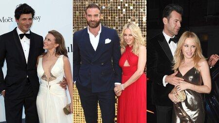 Kylie Minogue a její mladší muži.