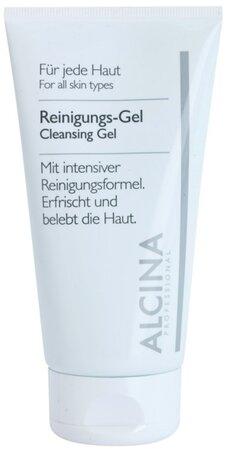Čistící gel s aloe vera a zinkem, Alcina, 294 Kč (150 ml), koupíte ve vybraných salonech