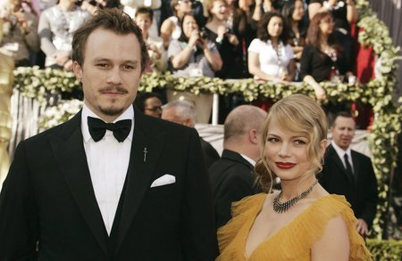 Heath Ledger s matkou své dcery, herečkou Michelle Williamsovou.