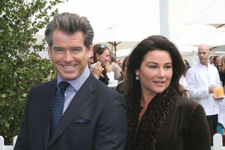 Pierce Brosnan s manželkou Keely Shaye Smith. Považuje ji za svou Severku, která mu ukazuje směr.