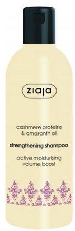 Posilující šampon Kašmír, Ziaja, 57 Kč (300 ml), koupíte v kamenných prodejnách Ziaja